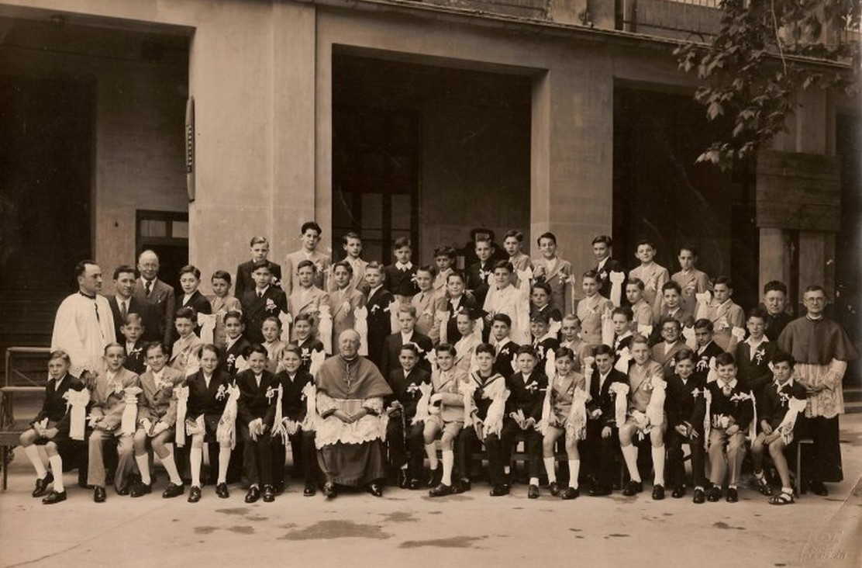 1947 - Communion solennelle - Lycée Sasserno