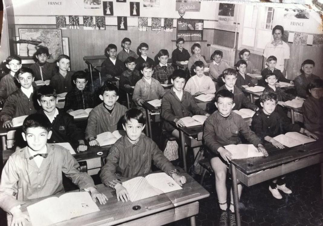1968 - CM1 - Lycée Sasserno