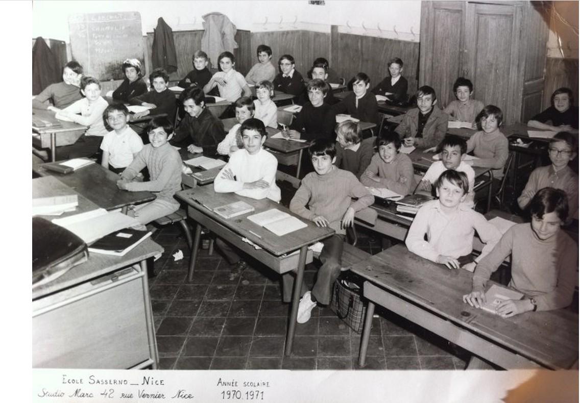 1970_71_Sasserno_classe 5°
